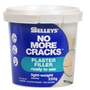 Selleys No More Cracks Ready To Use Plaster Filler 220g