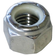 Stainless Steel 316 M6 Nylon Lock Nut