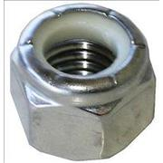 M5 Nylon Insert Lock Nut Zinc Plated