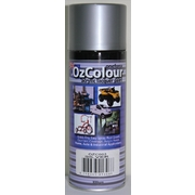 OzColour Silver Acrylic Spray Paint 300g