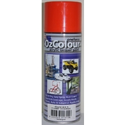 OzColour Flame Orange Acrylic Spray Paint 300g