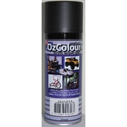 OzColour Satin Black Acrylic Spray Paint 300g