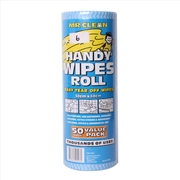 Mr Clean Handy Wipes Roll 50 Wipes 30 x 60cm