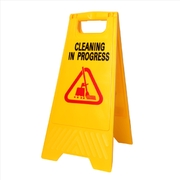 Mr Clean Caution Cleaning In Progres A-Frame Sign