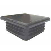 Plastic Cap 16x16mm Black