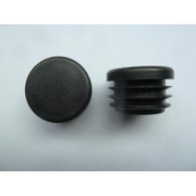 Plastic Cap 19mm Round Black