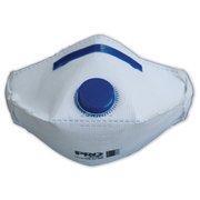 Pro Choice Respirator P2 with Exhalation Valve Horizontal Flat Fold