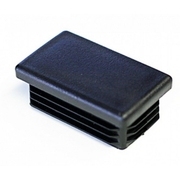 Plastic Cap 38x25mm Black