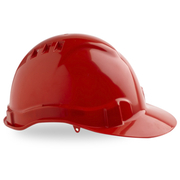 Pro Choice Hard Hat Vented 6 Point, Pinlock Harness Red