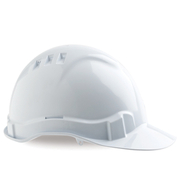 Pro Choice Hard Hat Vented 6 Point, Pinlock Harness White