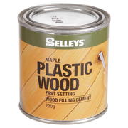 Selleys Plastic Wood Maple Coloured 230g