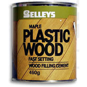 Selleys Plastic Wood Maple Coloured 460g