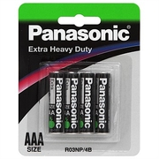 Panasonic AAA Extra Heavy Duty 4pk
