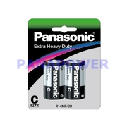 Panasonic C Size 2Pk Extra Heavy Duty Battery