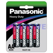 Panasonic AA 4Pk Heavy Duty Battery