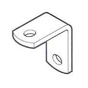 Angle Bracket 30x30x3mm Galv