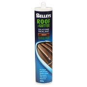 Selleys Roof & Gutter Silicone Brown 310g
