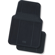 Oran Park Universal Rubber Mats Set of 4 Black