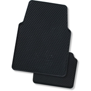 Calder Heavy Duty 4WD Commercial Rubber Mats Black 4pce