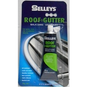 Selleys Roof & Gutter Silicone Translucent 75g Blister Carded