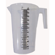 Measuring Jug 1 Litre Polypropylene, Food Grade, Chemical Resistant