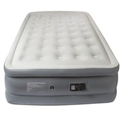Roman Double High Air Mattress With Built In Pump - Queen