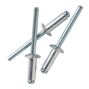 5052 Truss Head Aluminium & Steel Rivet 6-2 Hang Pack 100pk