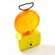 Pro Choice Road Safety Light Yellow With 2 x 6v Batteries Included