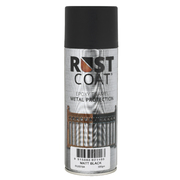 Rust Coat Epoxy Enamel Metal Protection Matt Black 300gm