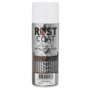 Rust Coat Epoxy Enamel Metal Protection Gloss White 300gm