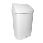 Sabco White Rubbish Bin 50 Litre