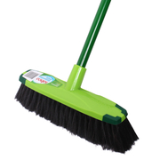 Sabco 300mm Polished Floor Broom With Handle