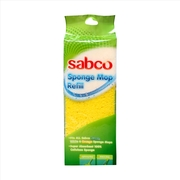 Sabco Sponge Mop Refill To Suit Breeze Mop & Lightning Mop