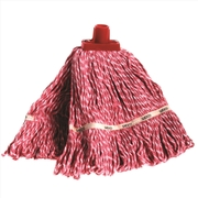 Sabco 350g Premium Grade Loop Mop Head Red