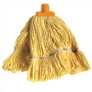 Sabco 350g Premium Grade Loop Mop Head Yellow