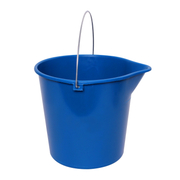 Sabco Round Bucket 10 Litre Metal Handle