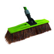 Sabco 450mm Broom Head Only Professional Bassine Bristle Mix Broom Chemical Resistant