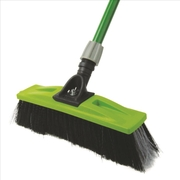 Sabco 350mm Broom Head Only Professional Extra Strong Bistle Rough Surface