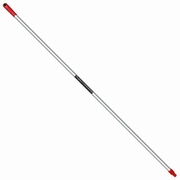 Sabco Aluminium Handle With Universal Thread 25 x 1450mm Red