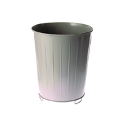 Sabco 12 Litre Fire Prevention Bin Grey