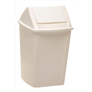 Sabco 18 Litre Swing Top Tidy Bin White