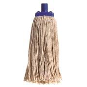 Sabco 450G #24 Contractor Mop Head Natural Cotton With Timber Handle