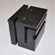 Sliding Gate Block Nylon Black