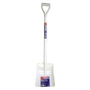 Spear & Jackson White Square Mouth All Steel Concretors Shovel