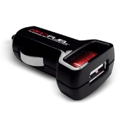 Redfuel Car Charger Adapter, USB, 2.4A High Output