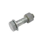 Structural Bolt, Nut, Washer M16 x 45mm Galvanised