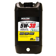 Nulon Full Synthetic 5W30 Fuel Efficient Engine Oil 20 Litre