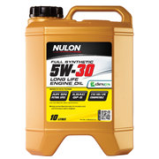 Nulon 5w30 Full Synthetic Fuel Effecient Engine Oil 10 Litre