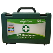 Trafalgar 126pce Handyman First Aid Kit