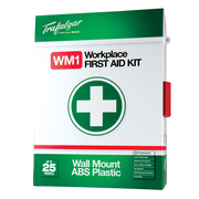 Trafalger WM1 Workplace First Aid Kit Wallmount Plastic Case
